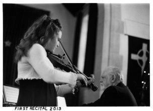 Violin Recital. Minolta X700 Rokkor X 50mm f1.4