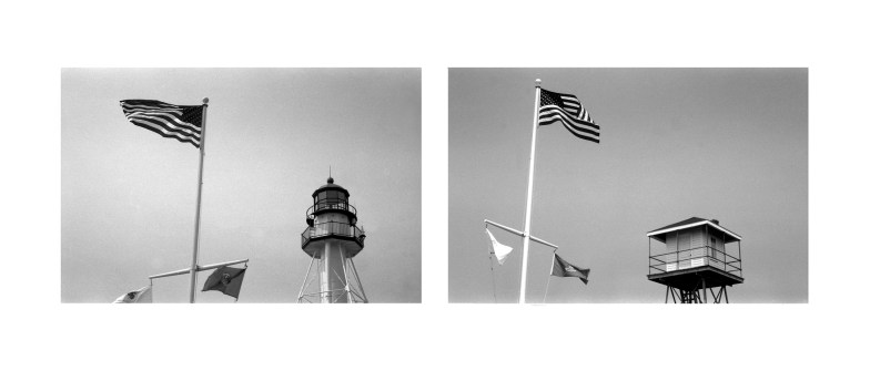 White Fish Point Diptych