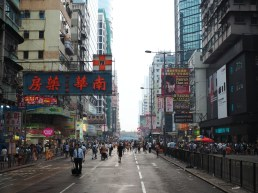 Getting closer to the intersection of Nathan Road and Argyle Street, the heart of Occupy Mong Kok