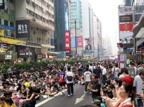 Occupy Mong Kok - 30th September, 2014