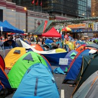 Inside The Occupied Zones of The Umbrella Movement - Hong Kong