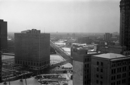 Detroit, from the Hotel room