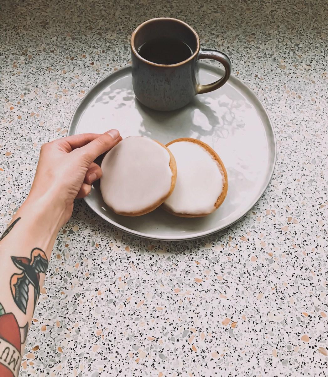 Cake-koekjes met glazuur!