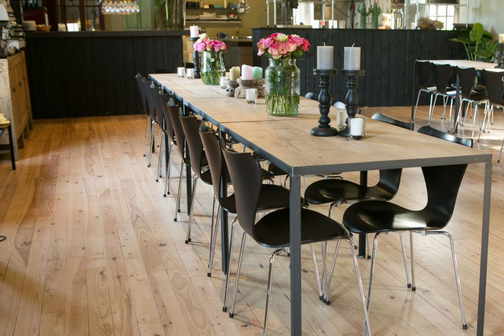 Houten tafels op maat