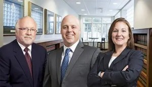Davenport Evans Bankruptcy and Creditors' Rights attorneys Bob Hayes, Keith Gauer and Tiffany Miller.