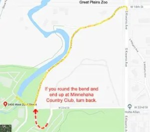 Map The Country Club of Sioux Falls Employment Law Update