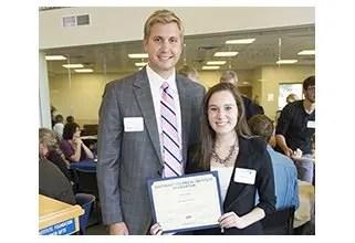 STI Student Alexis Reich Awarded Davenport Evans Scholarship