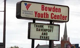 Davenport Evans Celebrates 75 Years with 75 Happy Meals and Socks at the Bowden Youth Center