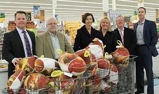 Davenport Evans Helps Feeding South Dakota Turkey Drive