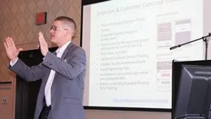 Chad Knutson SBS CyberSecurity at Davenport Evans Banking Seminar 2018