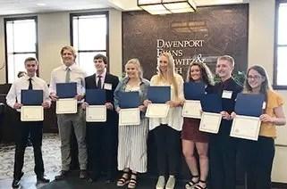 Announcing 2019 Davenport Evans Scholars