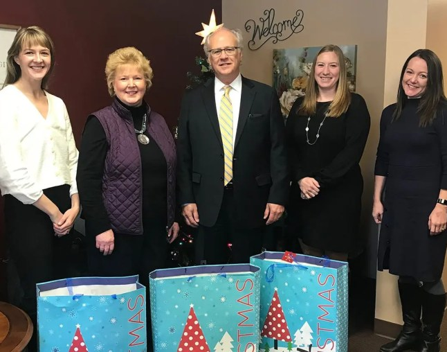 Davenport Evans Lutheran Social Services Donation