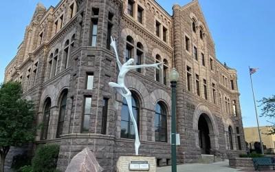 Sioux Falls SculptureWalk Spiral Dance Sponsored By Davenport Evans