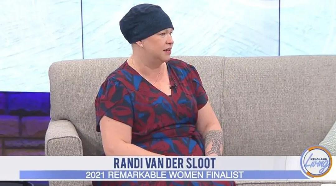 KELOLAND Remarkable Women Randi Van Der Sloot