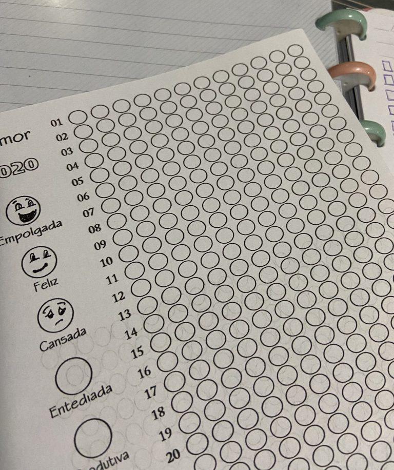 Insert – Mood Tracker Anual Emoji – PDF