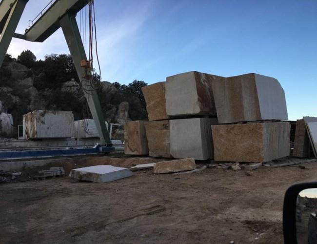 San Giacomo Yellow Granite Blocks