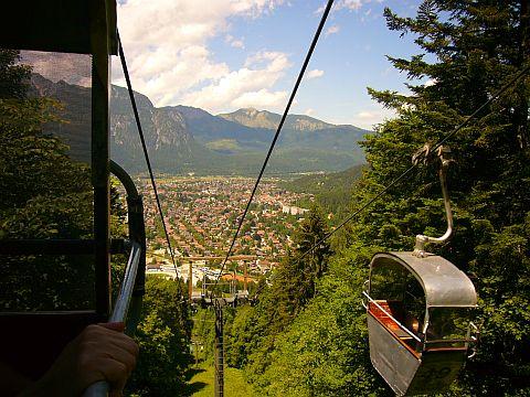 Garmisch vista doteleférico