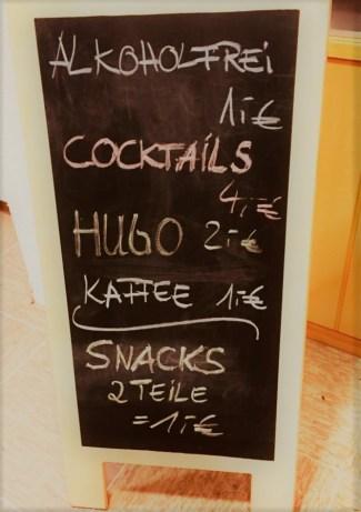 Ein Cocktail bitte