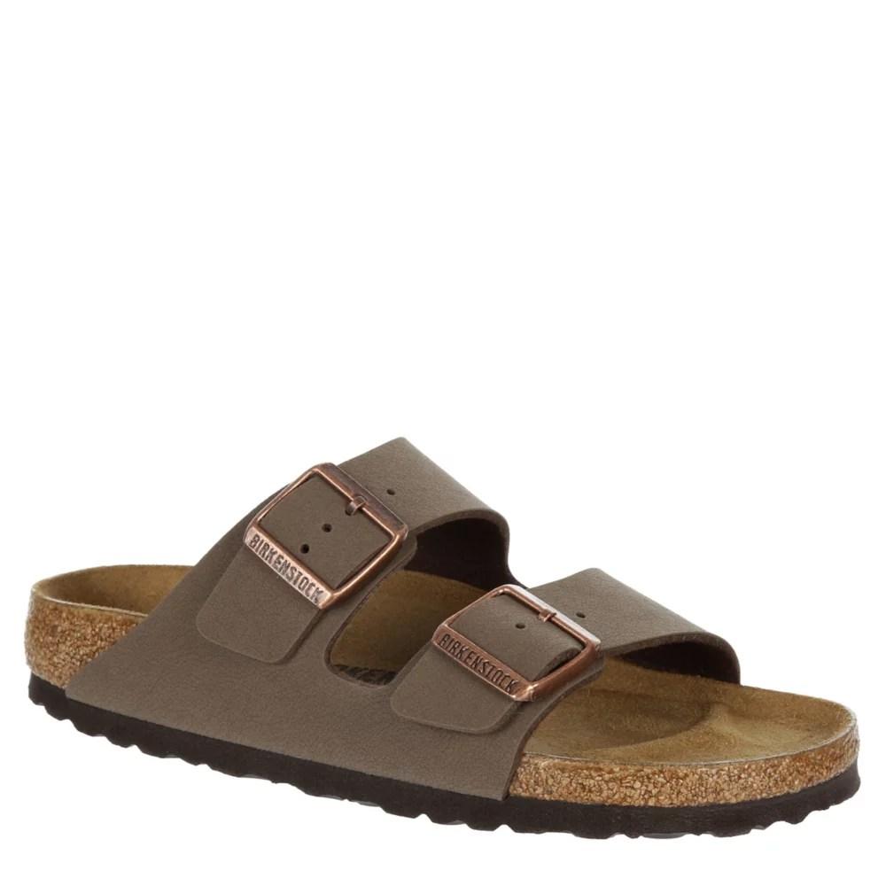 brown birkenstock womens arizona footbed sandal