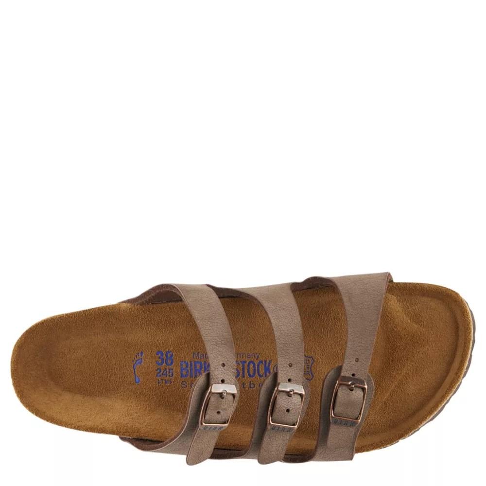 birkenstock womens florida footbed sandal brown