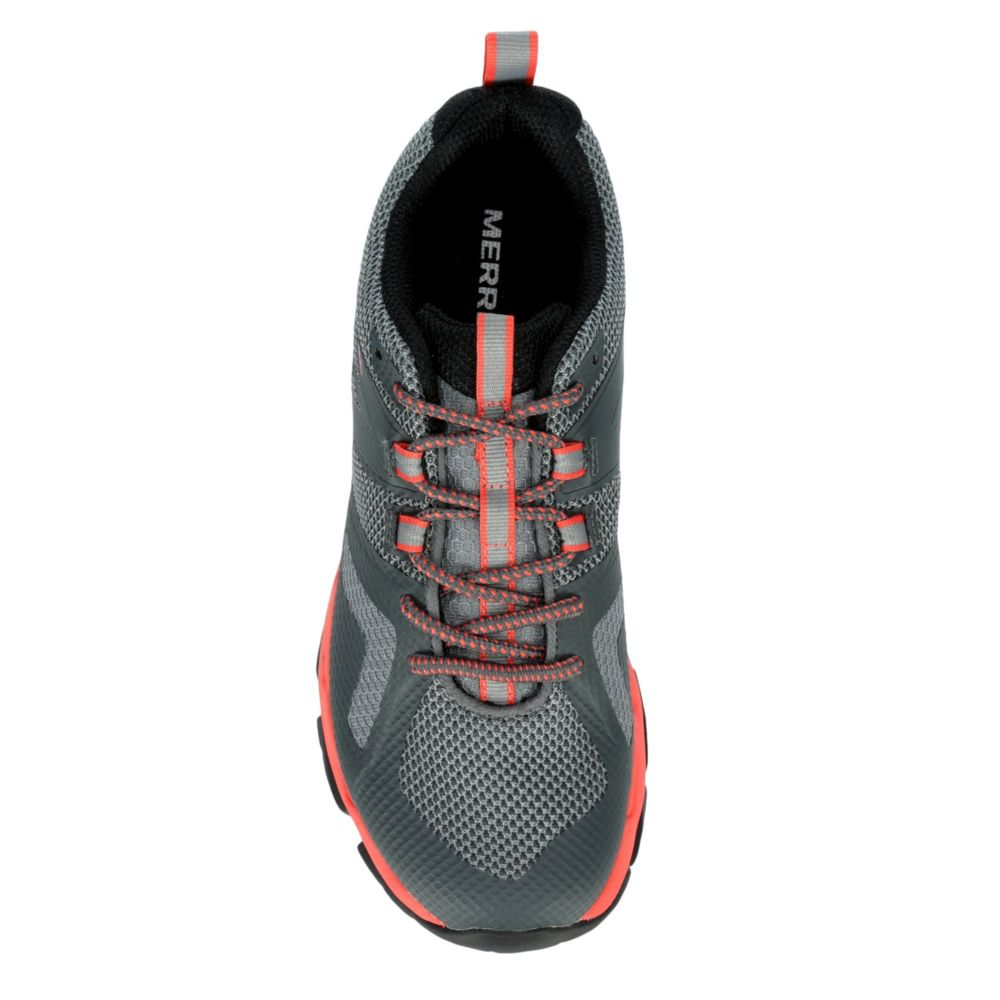 merrell womens meru hiking shoe grey