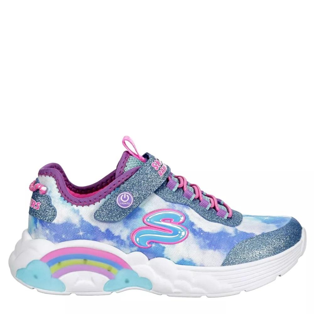 girls skechers shoes sneakers rack