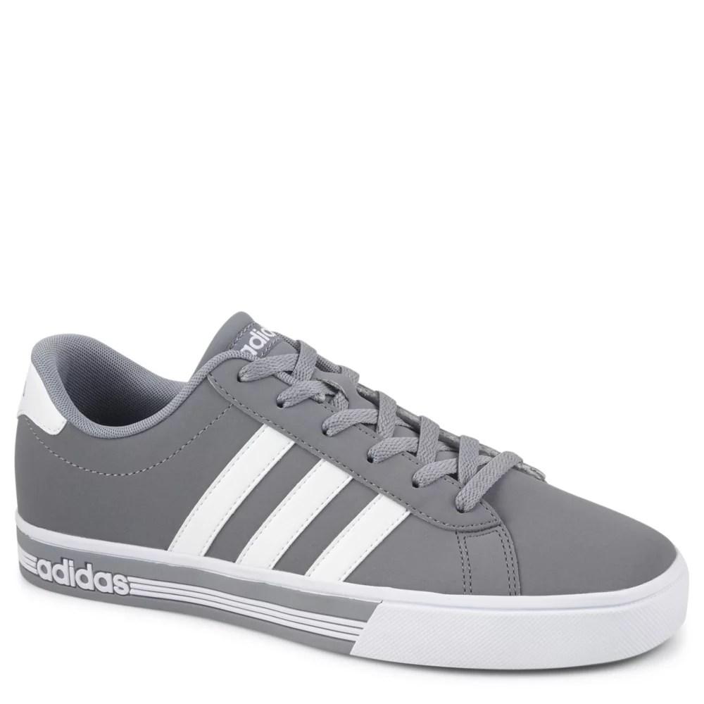 4fc935dc92dd3 Grey Adidas Mens Se Daily Team Skate   Fashion Rack Room Shoes