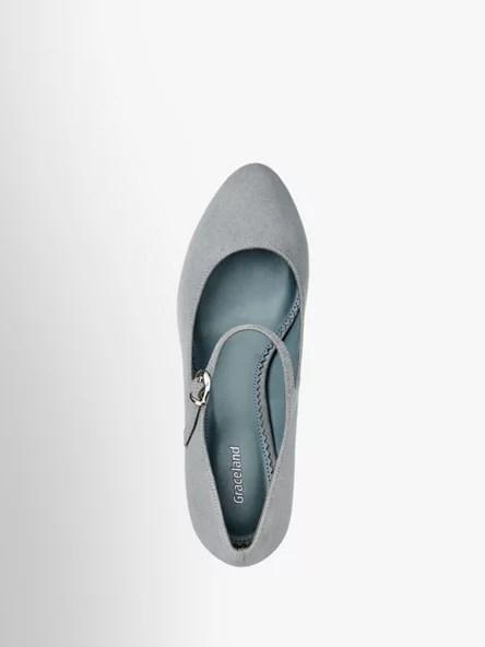 Artiklové číslo 1154656. Lodičky značky Graceland se díky šedomodré barvě  skvěle hodí k jarním šatům ve světlých odstínech e74194834e