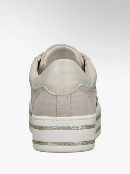 3dc998307b Dámské tenisky značky Graceland harmonicky spojují sportovně-ležérní střih  s romantickými prvky. Převážně textilní svršek je příjemně poddajný a díky  světlé ...