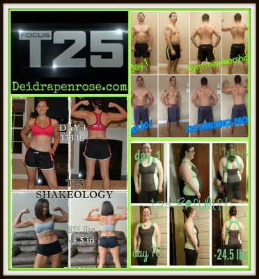 Deidra Penrose, Focus T25 challenge, beachbody challenge, 6 star elite diamond beach body coach, weight loss programs, fitness programs, 25 minute exercise, beach body weight loss transformations, fitness motivation, health and fitness coach, clean eating, shakeology, summer body, get fit for summer, 60 day fitness program, shaunt T fitness programs