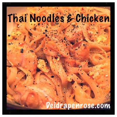 Deidra Penrose, Thai Chicken, Thai noodles, easy chicken recipes, Natural Peanut Butter recipes, healthy chinese recipes, Healthy dinner recipes, Diamond Beachbody coach, successful beachbody coach,  weight loss tips. fitness accountability