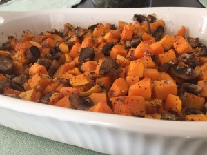Deidra Penrose, butternut squash, healthy veggie recipe, mushrooms, purple onion, healthy side dish recipes, top beachbody coach PA, healthy mom recipes, fresh veggies, online fitness coach, clean eating recipes, healthy cooking ideas