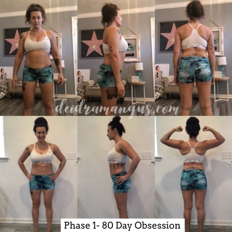 Deidra Mangus, phase 1 80 day obsession, post partum fitness journey, post partum weight loss, new baby weight loss, autumn calabrese, team beachbody home fitness programs, times nutrition, shakeology results, beachbody energize, beachbody post workout recover, successful beachbody coach, beachbody transformation, 80 day obsession results