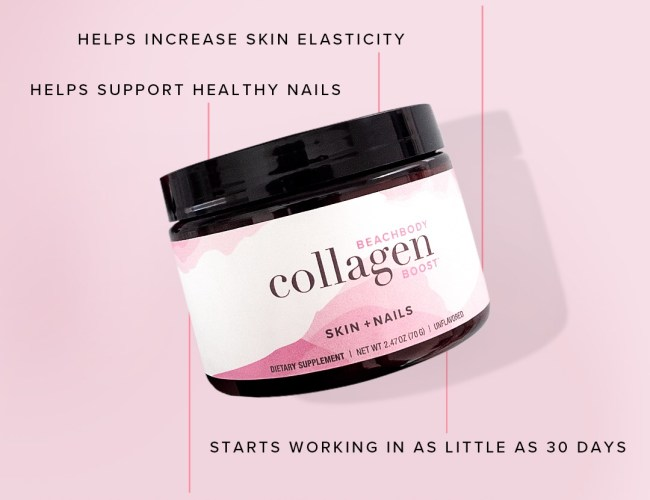 Collagen Boost, beachbody, beauty improvements, healthy skin and nails, weight loss tips, health and beauty tips,