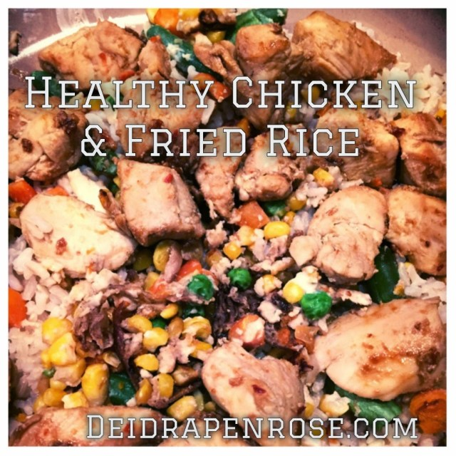 Deidra Penrose, Healthy chinese chicken and fried rice, healthy chinese recipe, weight loss recipes, brown fried rice, top team beachbody coach harrisburg, top team beachbody coach pittsburgh, healthy dinner recipes, easy healthy family recipes, 21 day fix extreme recipe, body beast recipe, NPC figure meal prep, NPC figure competitor