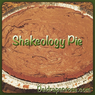 Deidra Penrose, Shakeology Pie, easy chocolate pie recipe, healthy chocolate pie recipe, 21 day fix recipe, easy clean desserts, chocolate shakeology recipe, beachbody coach harrisburg, top fitness coach online, elite beachbody coach, successful fitness coach, clean eating recipes, nutrition, health shake meal replacement, natural peanut butter recipes, greek yogurt recipes dessert, almond milk dessert recipes