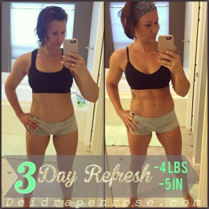 3 day refresh, Deidra Penrose, online fitness coach, top beachbody coach PA, fit mommy, fitness mom, healthy mom, healthy nurse, weight loss journey, fitness goals, track your fitness journey, Stay motivated over summer, summer body, lose last 10 pounds, fitness motivation, fitness tips, beachbody transformation, 3 day refresh results