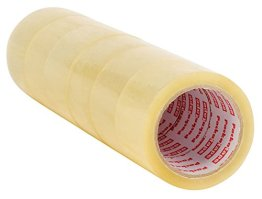 Packatape® - 6 Rollen 48mm x 66m transparent Paket-Klebeband für Päckchen und Kisten. Mit diesem 6er Pack hochleistungs-Klebeband erwerben sie ein sicheres, klebestarkes Verschlussmaterial für ihre Pakete auf das sie sich verlassen können. -