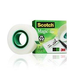 Scotch M8101933 Klebeband (1 Rolle, 19 mm x 33 m) matt/unsichtbar -