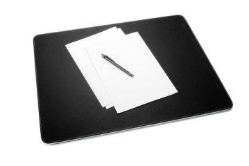 Sigel SA106 Schreibunterlage eyestyle schwarz/weiß, Kunstleder - weitere Farben -