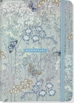Address Book Dusky Meadow -