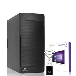 AGANDO Silent Allround & Business PC   AMD A8-7650K 4x 3.3GHz   Turbo 3.8GHz   GeForce GT730 4GB   16GB RAM   1000GB HDD   DVD-RW   USB3.0   WLAN   Win 10 Pro   36 Monate Garantie   Computer für Multimedia, Gaming, Büro/Office -