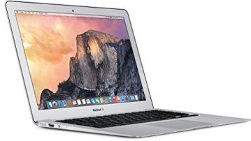 Apple MacBook Air MJVM2D/A 29,5 cm (11,6 Zoll) Notebook (Intel Core i5 5250U, 1,6GHz, 4GB RAM, 128GB HDD, Mac OS) silber -
