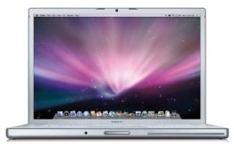 Apple MacBook Pro MB133 39,1 cm (15,4 Zoll) WXGA+ Notebook (Intel Core 2 Duo 2.4GHz, 2GB RAM, 200GB HDD, DVD+/-RW, Mac OS X) -