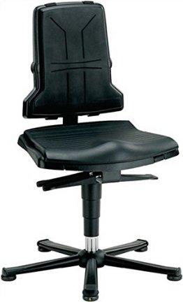 Arbeitsdrehstuhl Sintec B m.Gleitern u.Sitzneigung ESD Sitz-H.430-580mm BIMOS -