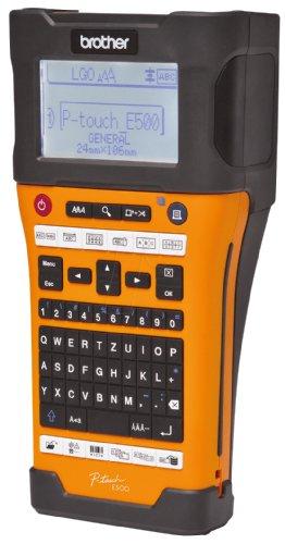 Brother PTE500VPG1 P-TOUCH E500VP Beschriftungsmaschine -