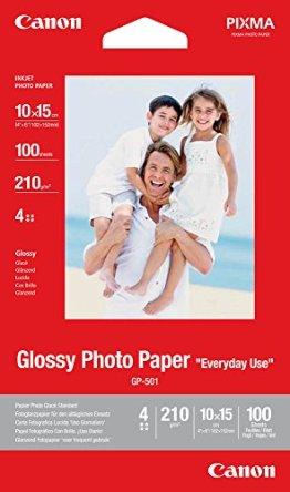 Canon BJ MEDIA GP-501 10X15 Papier 100 Blatt glänzend -