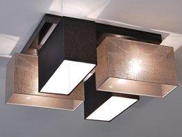 Deckenlampe - HausLeuchten JLS4126D, Deckenleuchte, Leuchte, Lampe, 4-flammig, Massivholz -