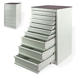 DEMA Schubladenschrank 6/3 grau 600x630x1070 -