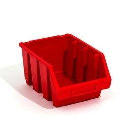 Ergobox Größe 3 Box Sortierkästen Stapelboxen Lagerkasten rot Regalsortierung Regal -